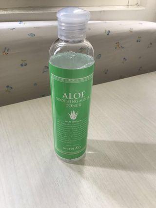 Secret Key Aloe Soothing Moist Toner