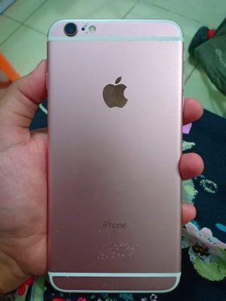 IPHONE 6S PLUS 64 GB ROSEGOLD FEMALE USER