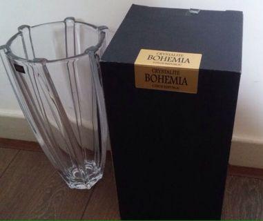 Bohemia 進口水晶玻璃花瓶