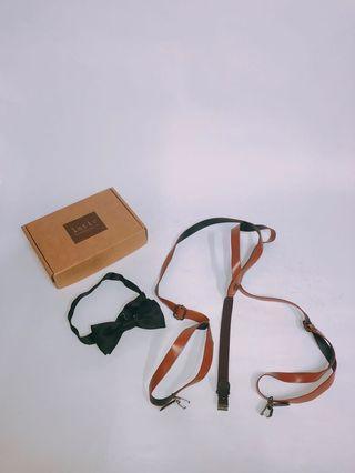 吊帶、領結