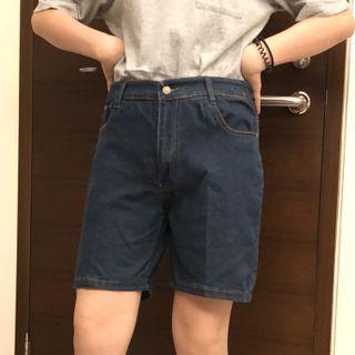 古著五分牛仔短褲