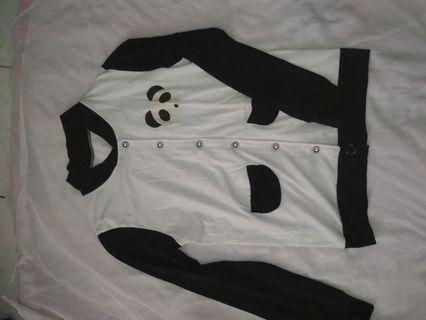 Jaket kaos panda