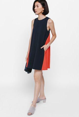 Love Bonito Cylene Contrast Swing Dress