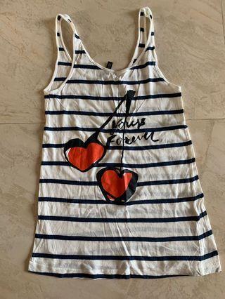 H&M Stripe Vest