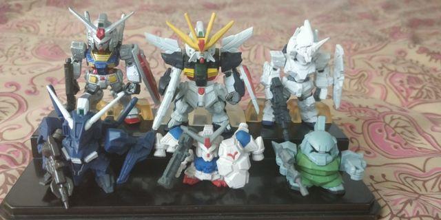 Gundam 高達 converge x高達 獨角獸扭蛋