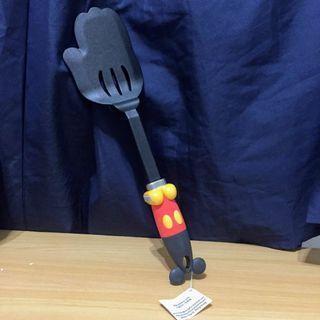 香港迪士尼 米奇Mickey 廚具 立體造型  鍋鏟 造型  鏟子 廚房烹飪 廚房用具