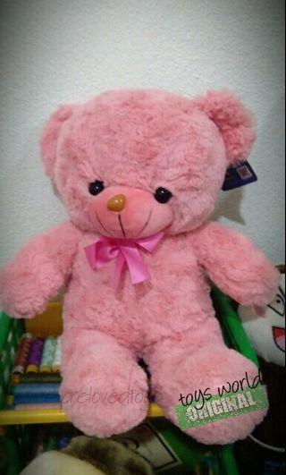 Preloved Pink Teddy Bear (FREE POSTAGE)
