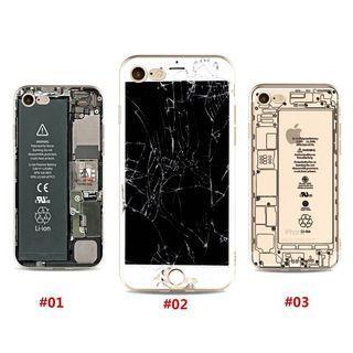 iPhone X 5 5s SE 6 6s 7 8 Plus 6Plus Creative Clear Soft