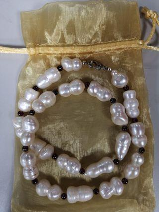🚚 Necklace South sea pearl