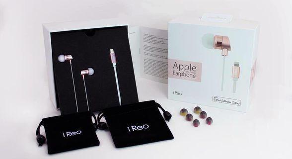 🚚 iReo 蘋果專用24bit高解析數位耳機