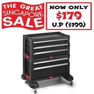[SALE] Motorcycle Tool Chest Tool Box Keter USA