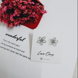 Creative Fashionable Flower design Earring