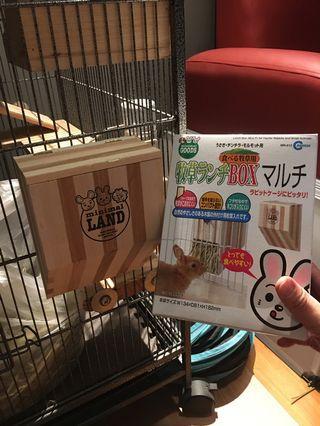 🚚 Minimal Land Animal Hay Rack for Rabbit and Chinchillas