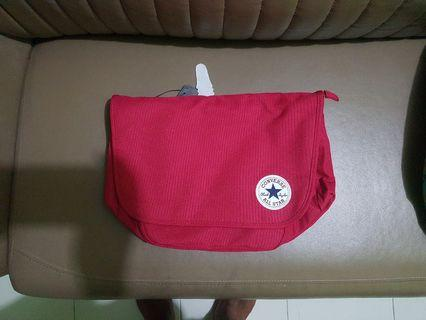 🚚 Converse All Star Core Red Color Messenger Bag