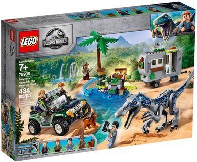 LEGO 侏儸紀世界 Jurassic World 75935 Baryonyx Face-Off 同系列 75934 75937 75938 75918 75919 75930