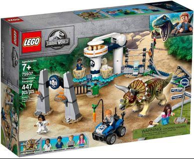 LEGO 侏儸紀世界 Jurassic World75937 Triceratops Rampage 三角龍 同系列 75934 75935 75938 75918 75919 75930
