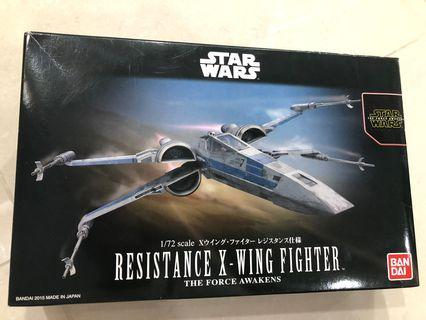 🚚 Resistance X-Wing Fighter