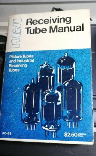 Rca Receiving Tube Manual Rc-29 (RCA真空管手冊 Rc-29, rc-29) book