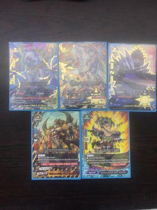 🚚 Buddyfight Cards-Ommi Lords
