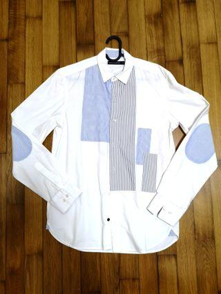 🚚 French connection FCUK men shirt S size