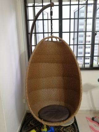RATTAN HAMMOCK CHAIR
