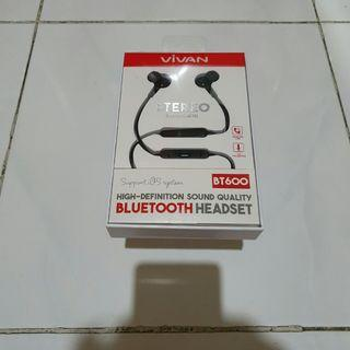 Headset Bluetooth VIVAN BT600