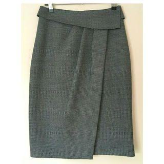 VERONIKA MAINE black & white skirt Size 8