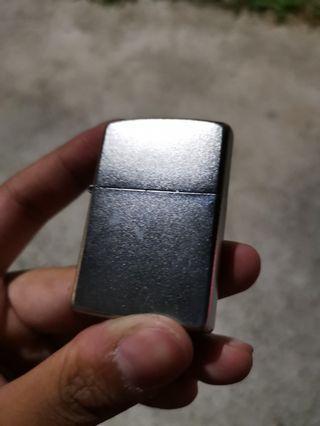 Zippo Lighter - Satin Chrome