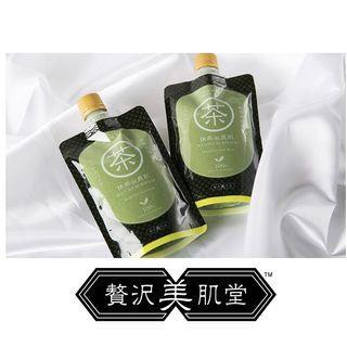 🍀日本製 新発売「贅沢美肌堂™ 抹茶de美肌」沖洗式面膜🍀 #MTRcentral #MTRmk #MTRkt