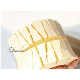 Gracebabi-裸色三角海綿