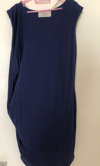 Zara dress (Navy)