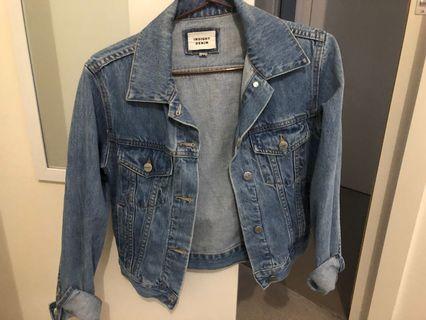 Insight blue denim jacket