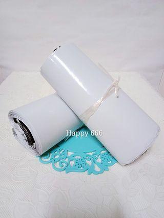 🚚 白色加厚破壞袋 自黏袋 快遞袋 物流袋 便利袋100入
