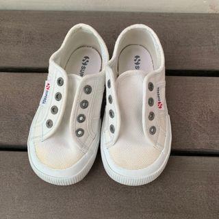 (PL) SUPERGA Kids Shoes White classic sneakers 15 cm /EU 25 / US 8.5