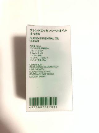 Muji essential oil [ Clear ]