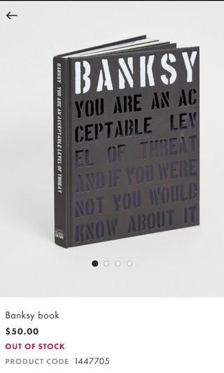 BANKSY Coffee Table Book