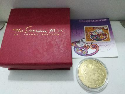 Gold Coin-monkey