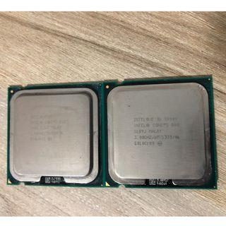 [SOLD] 2x Intel Core 2 Duo LGA775 CPU processors