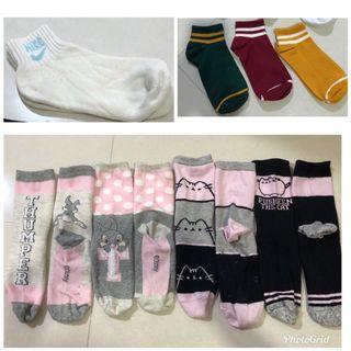 Various type of socks