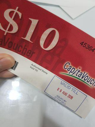 $90 Capitaland voucher