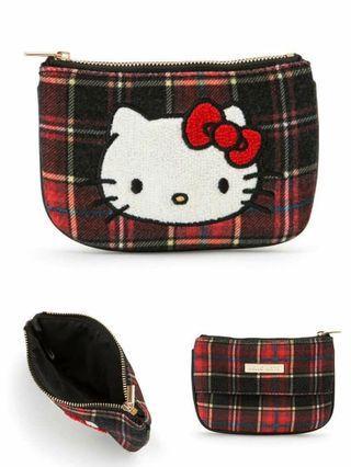 Hello Kitty Tissue Case (Tartan Series)