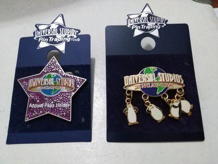 Pins - Universal Studios-2 pcs
