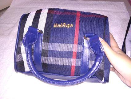 Handbag mei&ge motif kotak hnm