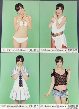 AKB48 1/48 アイドルとグアムで恋したら 前田敦子 4枚