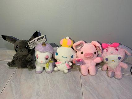 CLAW: Assorted Plush Toys