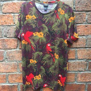 H&M Tropical/Floral Tshirt