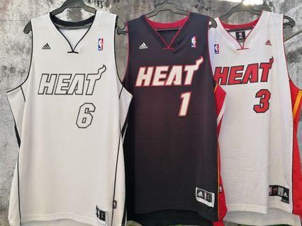 da907967d2e Authentic Adidas Swingman NBA jersey Miami Heat Lebron James Wade Bosh LBJ