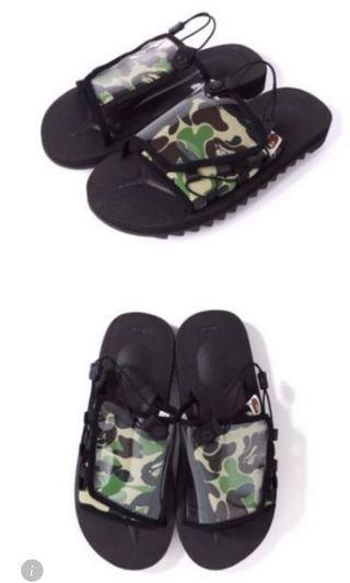 🚚 Aape迷彩夏日涼鞋