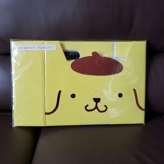 正版 Sanrio 布甸狗 文件盒