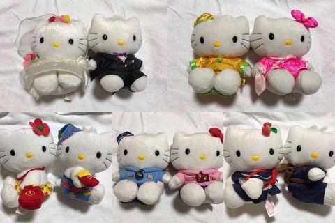 Hello Kitty 公仔 (set of 10)